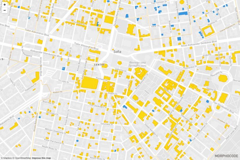 Arhitekti Szdadoha Interaktivna Karta Na Sgradite Pametnici Na